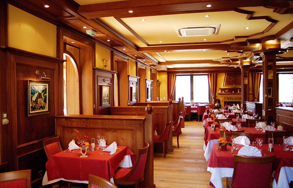 Salle de l'hôtel-Restaurant le Velleda à Grandfontaine