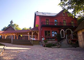 Extérieur hôtel-restaurant le Velleda à Grandfontaine