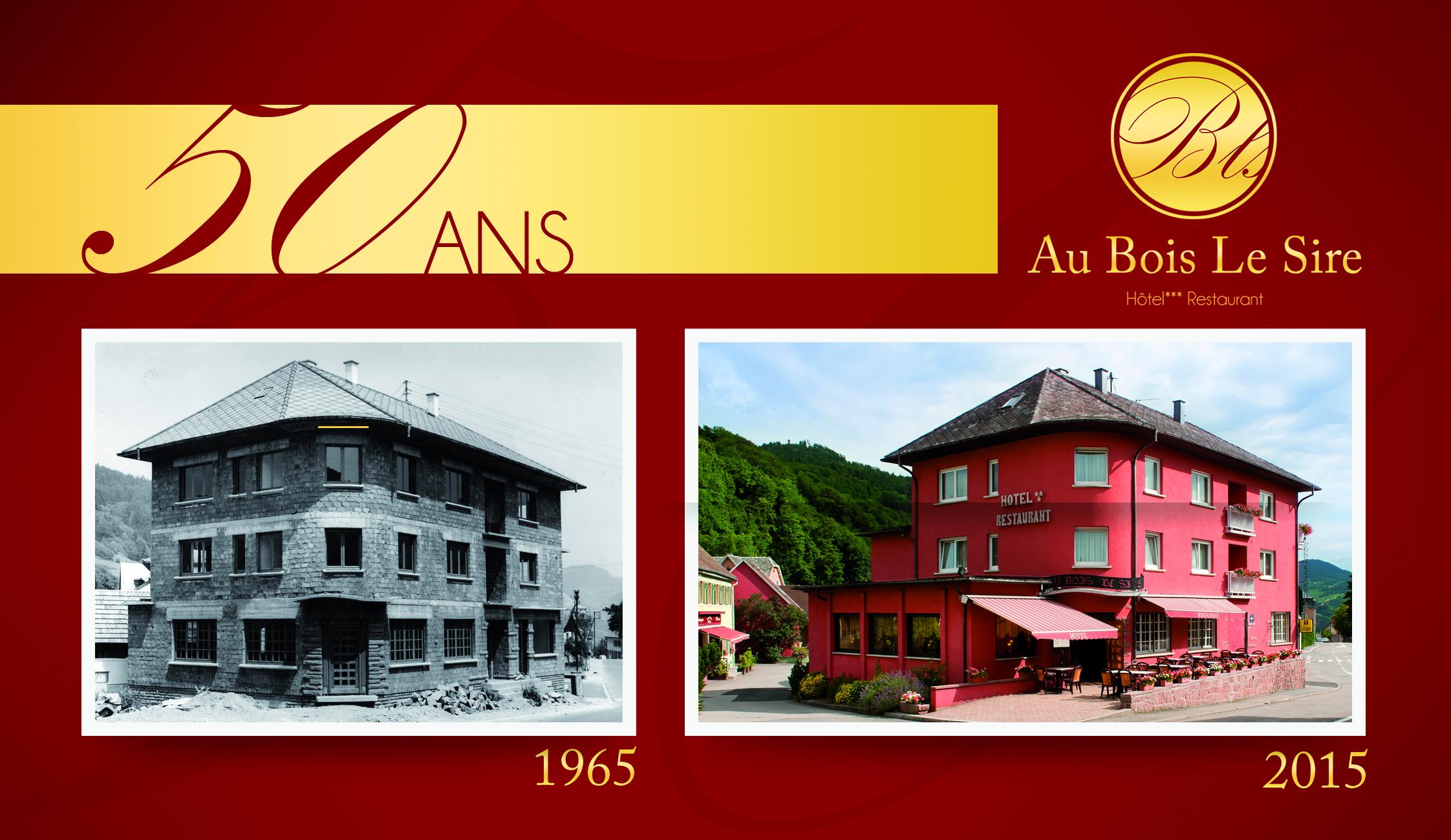 Hotel Bois Le Sire - L u2019établissement familial Au Bois le Sire f u00eate ses 50 ans ! Chefs d'Alsace
