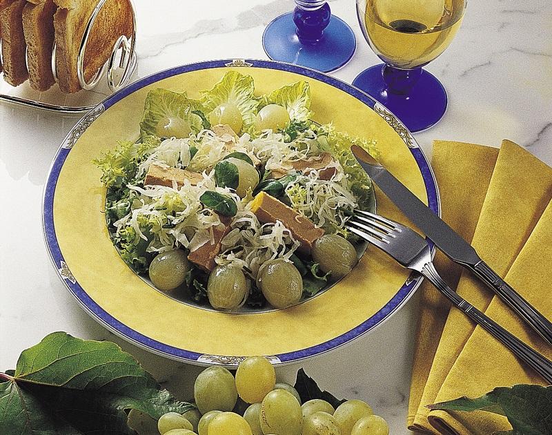 salade-choucroute-foie-gras-chefs-alsace