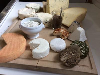 Plateau de fromages de la vallée