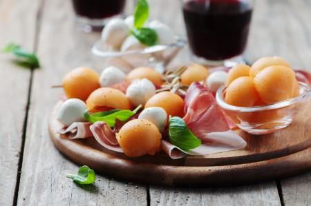 Mozzarela melon basilic par les Chefs d'Alsace