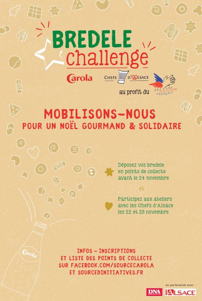 affiche Bredele Challenge 2017