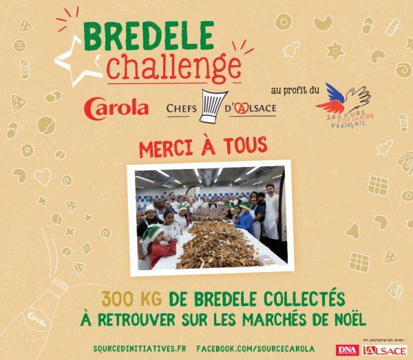 Remerciements Bredele Challenge 2017