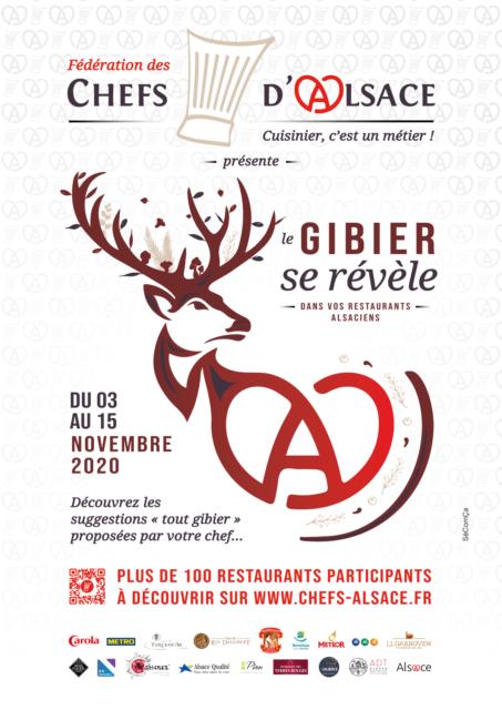 Le GiBIER se révèle dans les restaurants alsaciens