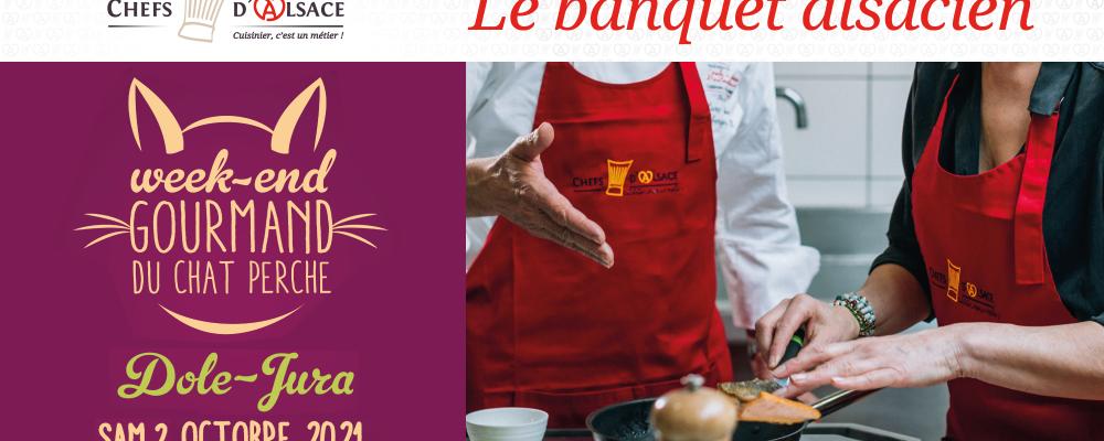 [ EVENEMENT ] Banquet alsacien au Chat Perché – Dole